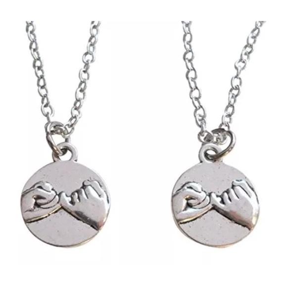 Jewelry pinky promise pendant dangle charm sets poshmark pinky promise pendant dangle charm sets aloadofball Choice Image